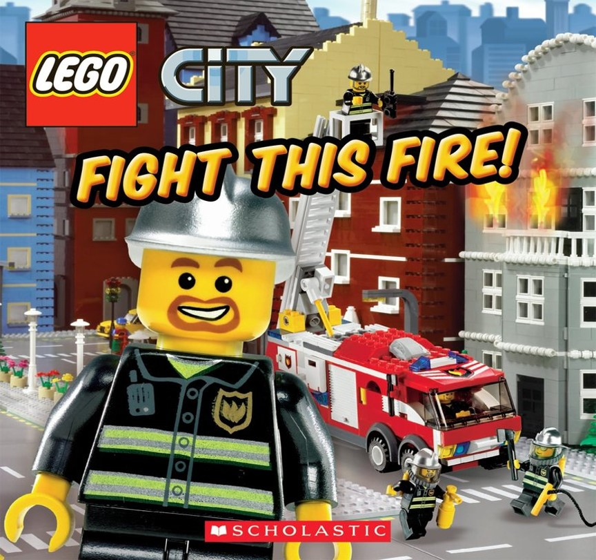 Lego Fight Fire Cover